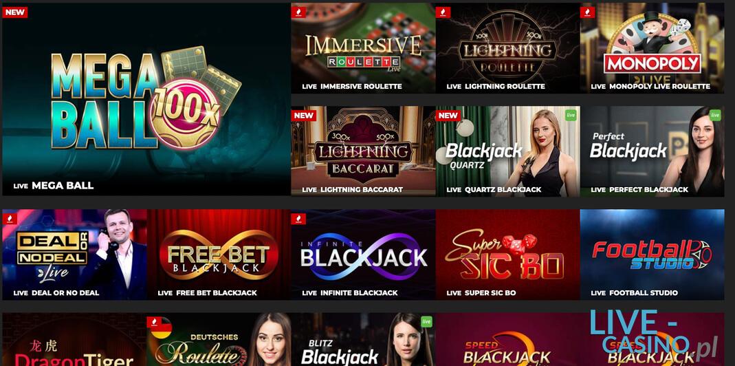 Koło Fortuny Crazy Time w kasynie na żywo Unibet