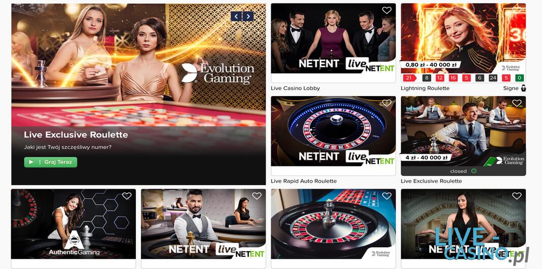 Ruletka na żywo w kasynie CasinoEuro